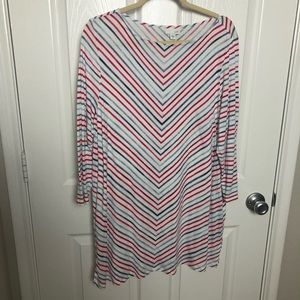 J. Jill Striped Tunic